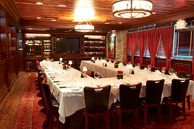 The Lounge Is Our Largest Private Room Seating Up To 65 Guests And Offering An Authentic Texas Feel While Portraying A Warm Elegant Atmosphere