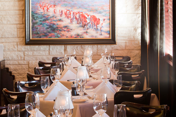 Pappas Bros  Steakhouse - Private Dining