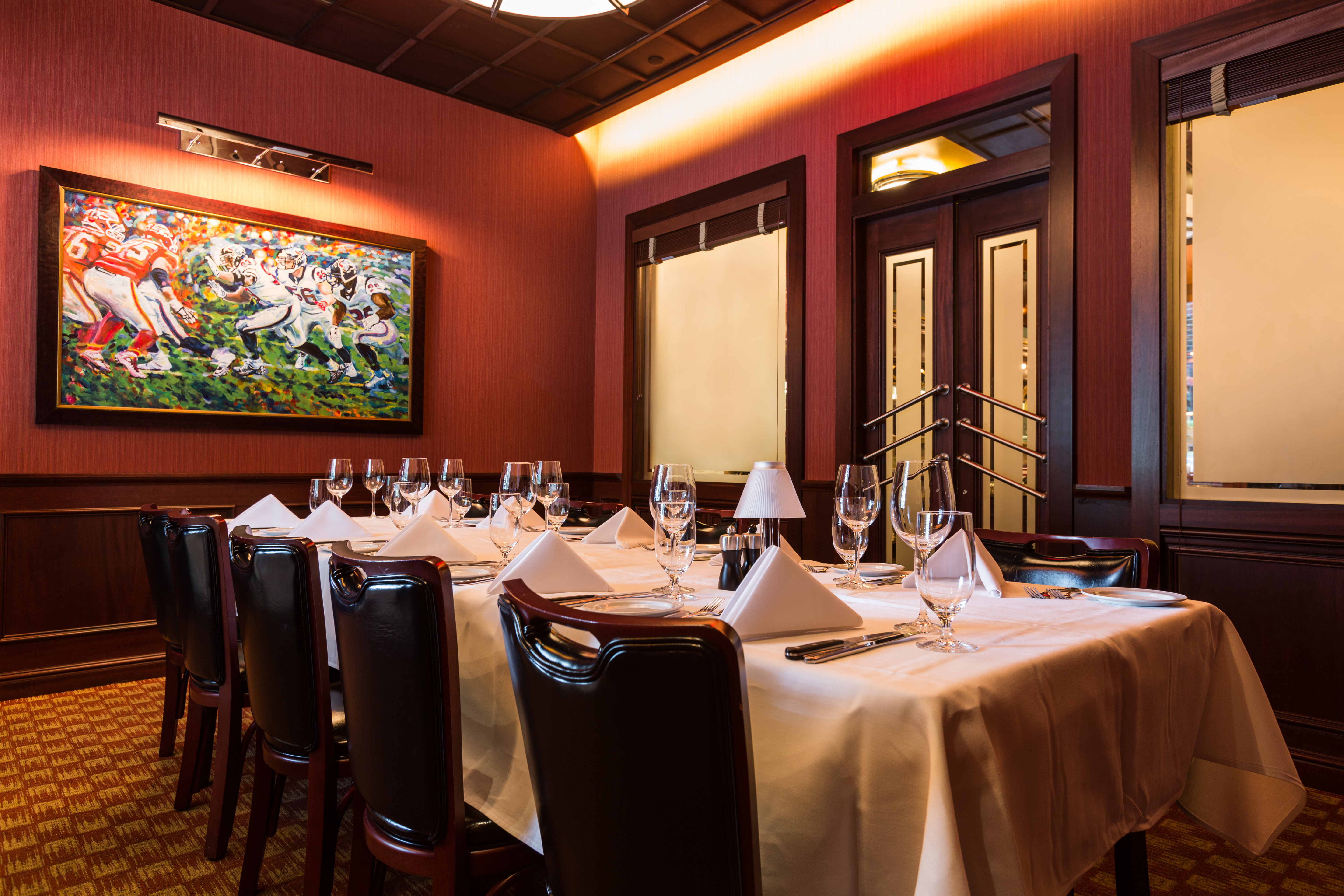 Pappas Bros Steakhouse Houston Downtown, Downtown Houston Restaurants With Private Dining Rooms
