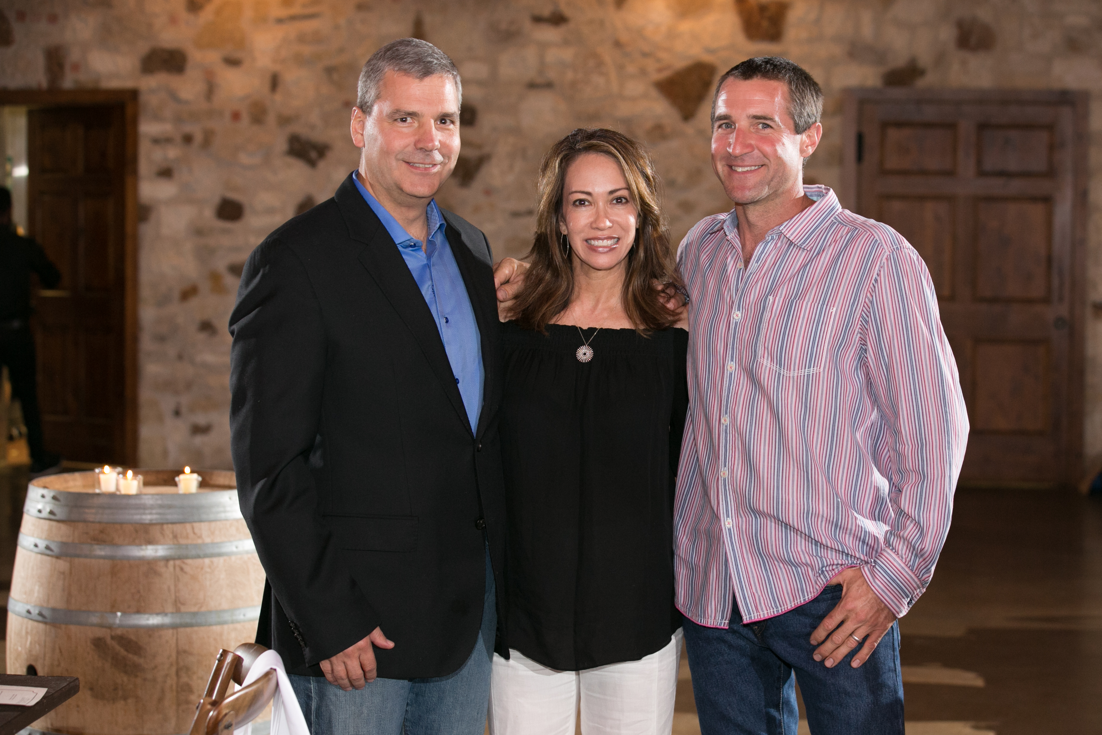 Drs. Stan & Lisa Duchman, Owners & Dave Reilly, Winemaker