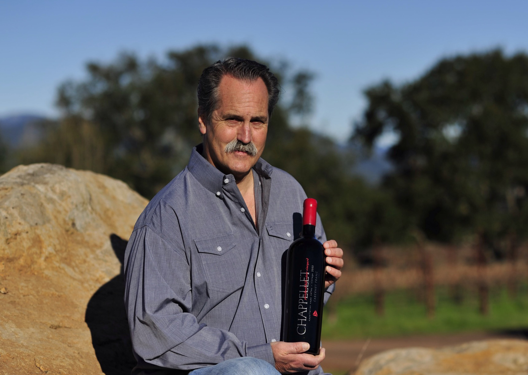 Chairman & CEO of Chappellet Winery